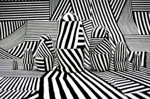 dazzle camouflage pattern