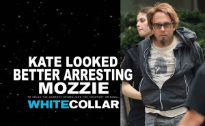 White Collar Kate looked better arresting Mozzie by ENT2PRI9SE