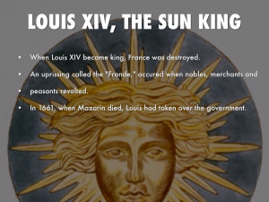 Louis Xiv Sun King Symbol Louis Xiv The Sun King