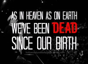 hollywood undead quotes tumblr
