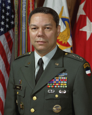 2001- Colin L. Powell, First African-American Secretary of State
