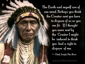 Chief Joseph Nez Perce