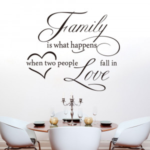 French Love Quotes Family love english quote love