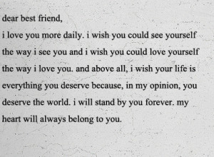best friend quotes photo: Dear Best Friend Screenshot2010-06 ...