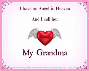 miss my grandma she was an awesome Person.