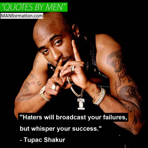 Haters Haters Tupac Shakur