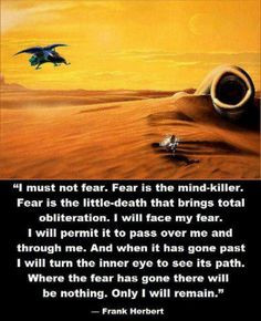 ... fear one of my all time favorite quotes more dune book quotes actually