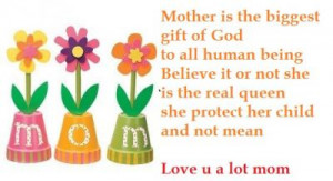 Mother's Day 2015 messages in English from son to Mom