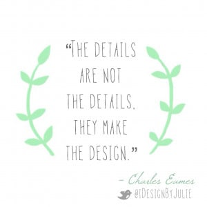 Interior Design Quote by Charles Eames
