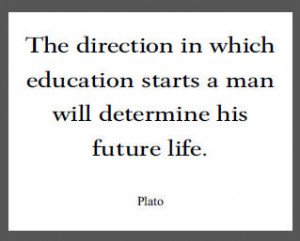 Plato Quote on Education