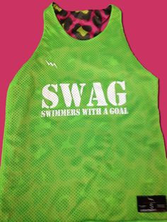 Swim team pinnies have never looked so swaggy. Get your swim team ...