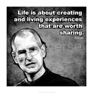 Steve Jobs Quote II art print