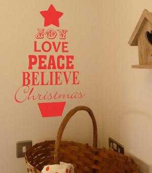Giant Christmas Tree Quote