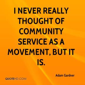 Quotes About Community Service ~ Community service Quotes - Page 1 ...