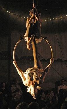 Aerial hoop duo More
