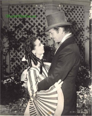 Scarlett O'Hara and Rhett Butler LOVE
