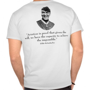 Eddie Rickenbacker and Quote Shirts