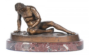 bronze of the dying gaul