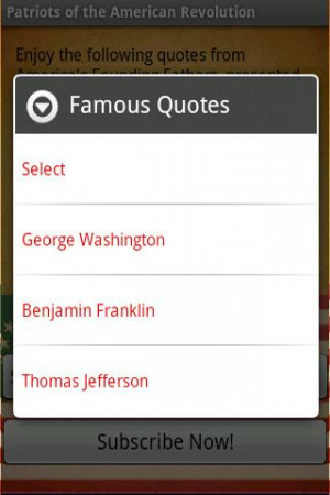 Quotes - American Revolution - screenshot