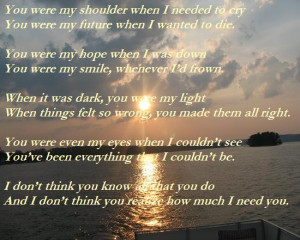 There for Me Quotes http://www.123greetings.com/events/fall/thank_you ...