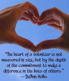 Volunteer Appreciation Quotes   The Quotes Tree