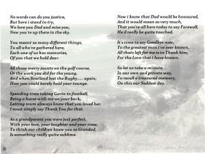 Eulogy Poem For Mother