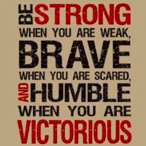 Strong.Brave.Humble.