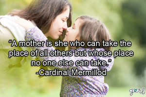10 Quotes For Your Mom For Mother's Day