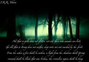 Tolkien quote by 13DarkMelody31