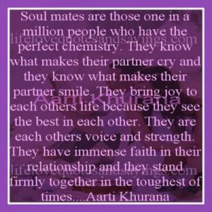 Soul mates…
