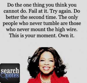 oprah winfrey quotes on success