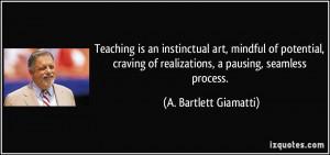 More A. Bartlett Giamatti Quotes