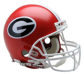 Authentic and Replica University of Georgia Football Helmets