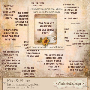 Rise and Shine Inspirational Quotes