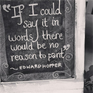 Edward Hopper quote