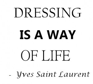 Friday Fashion Quote