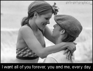 ... for this image include: love, the notebook, movie, forever and cute