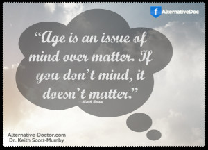 Mind Over Matter – Mark Twain Quote