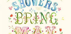 Monday motivation – April showers bring May flowers