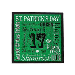 st patrick s day sayings wall décor in 13625498 brush up on your st ...