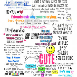 Cute Quotes - Polyvore
