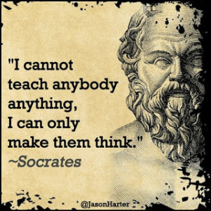 How to write a good socratic dialogue
