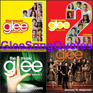 Glee Song Quotes