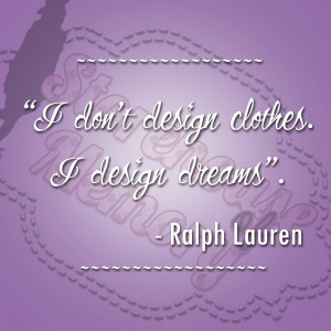 Quote Of The Week: Ralph Lauren