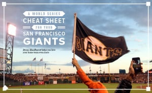 world series cheat sheet for your san francisco giants