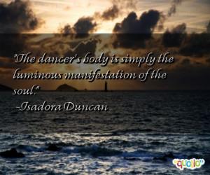 Dancers Quotes