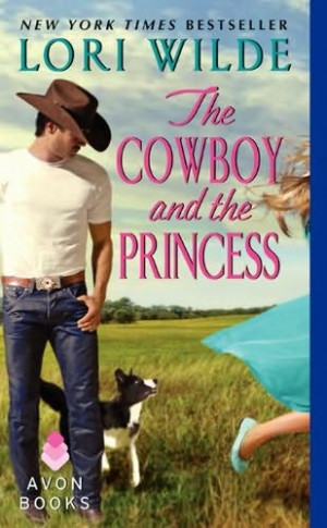 book cover of The Cowboy and the Princess
