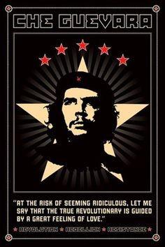 Che Guevara Revolutionary Communist Pop Art Quote Poster 24 x 36 ...