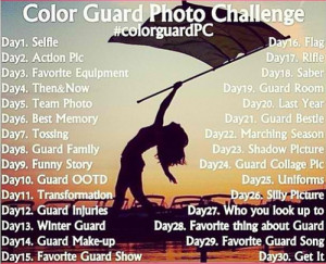 Color Guard Quotes Tumblr #challenge #colorguard #june