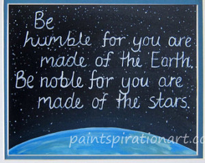 ... space inspirational quotes original painting print artwork with quotes